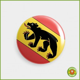 Kantonsflagge Bern Button