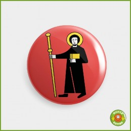 Kantonsflagge Glarus Button