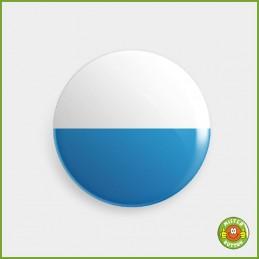 Kantonsflagge Luzern Button