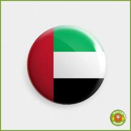 Flagge Vereinigte Arabische Emirate Button