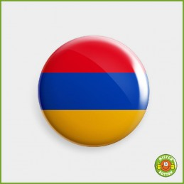 Flagge Armenien Button