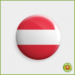 Flagge Oesterreich Button