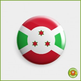 Flagge Burundi Button