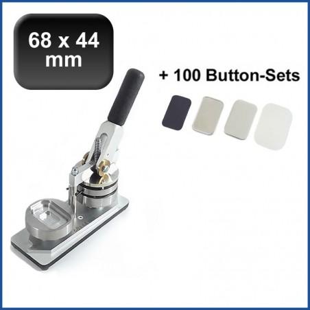Buttonmaschine 900 Flexi Doppelpack + 200 Buttons