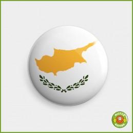 Flagge Zypern Button