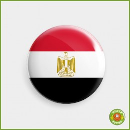 Flagge Aegypten Button