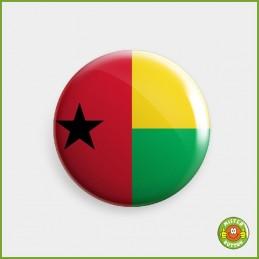 Flagge Guinea-Bissau Button