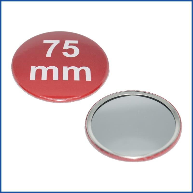 75mm Rohlinge mit Spiegelrückseite