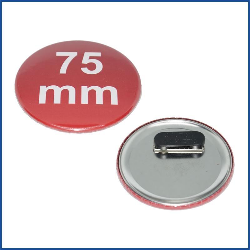 75mm Rohlinge mit Premium-Kleidungsmagnet