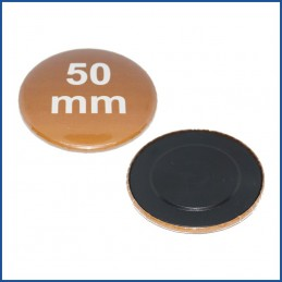 50mm Rohlinge mit Magnetrückseite