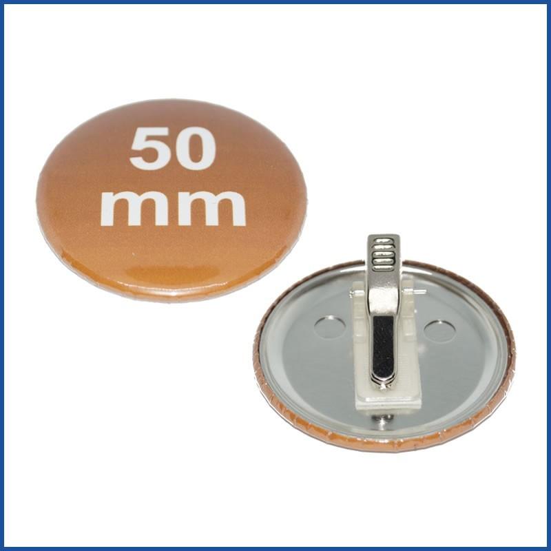 50mm Rohlinge mit Kroko-Clip