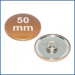 50mm Rohlinge mit Kleidungsmagnet