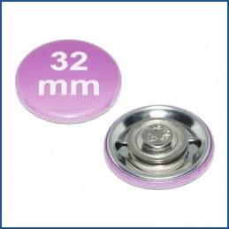 32mm Rohlinge mit Kleidungsmagnet
