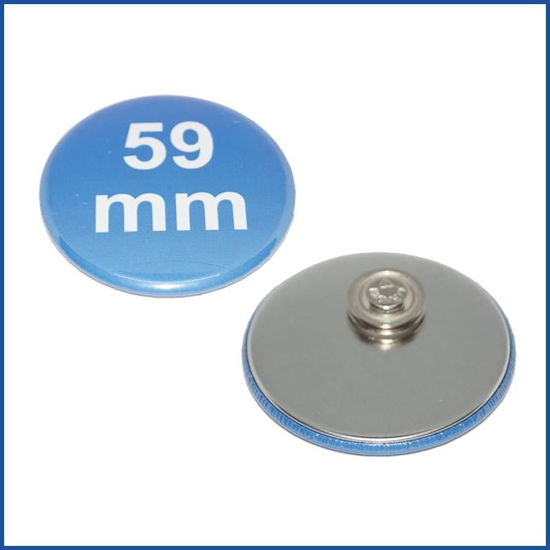 59mm Rohlinge mit Kleidungsmagnet