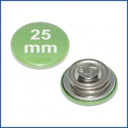 25mm Rohlinge mit Kleidungsmagnet