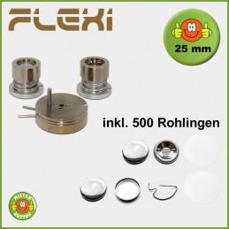 25 mm Stempelsatz 900 Flexi + 500 Buttons