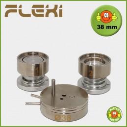 Buttonmaschine 900 Flexi Stempelsatz 38 mm