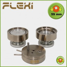 Buttonmaschine 900 Flexi Stempelsatz 59 mm