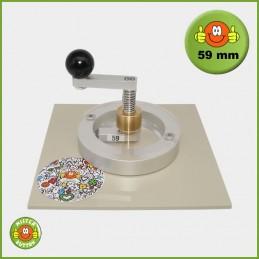 Kreisschneider Typ 2006 für 59 mm Buttons