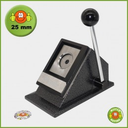 Papierstanze für 25 mm Button-Papiervorlagen