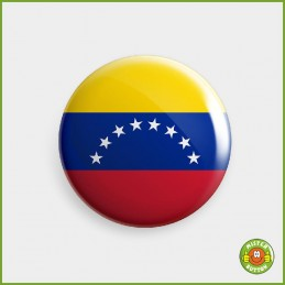 Flagge Venezuela Button