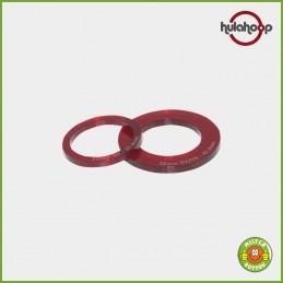 Zusatzschablone für Kreisschneider hulahoop für 25 mm und 32 mm Buttons
