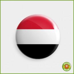 Flagge Jemen Button