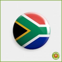 Flagge Südafrika Button