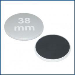 Buttons bedruckt 38mm mit Magnetrückseite