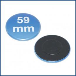 Buttons bedruckt 59mm mit Magnetrückseite