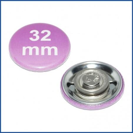Buttons bedruckt 59mm mit Premium-Kleidungsmagnet