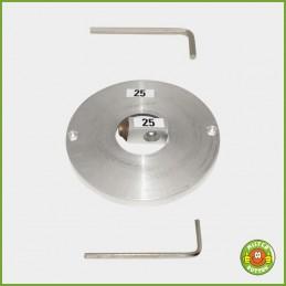 Metall-Schablone mit Messerblock für Kreisschneider Typ 2006 - 25mm