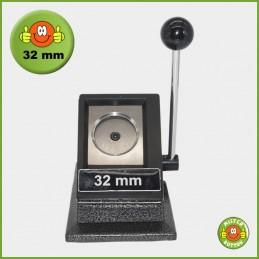 Papierstanze für 32 mm Button-Papiervorlagen