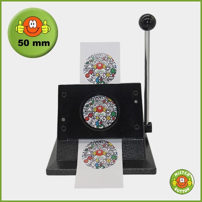 Papierstanze für 50 mm Button-Papiervorlagen