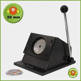 Papierstanze für 59 mm Button-Papiervorlagen