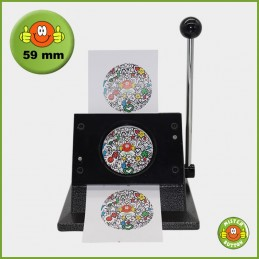 Papierstanze für 59 mm Button-Papiervorlagen