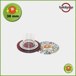 Kreisschneider hulahoop MAXI - Schablone für 38 mm Buttons