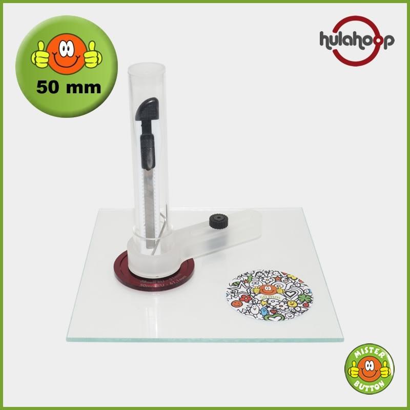 Kreisschneider hulahoop MAXI - für 50 mm Buttons
