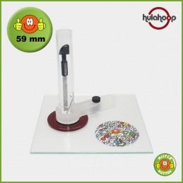 Kreisschneider hulahoop MAXI - für 59 mm Buttons